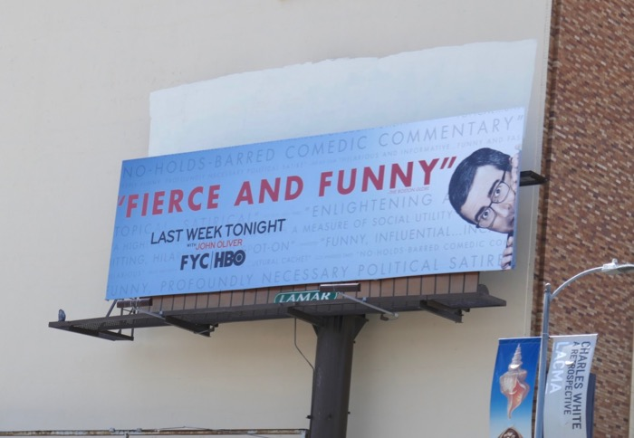 Last Week Tonight John Oliver 2019 Emmy FYC billboard