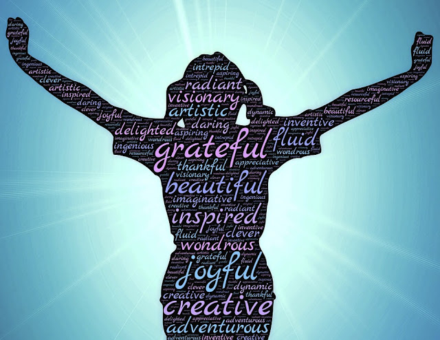 Positive words and feelings from a grateful heart