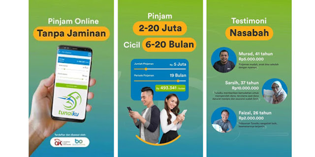 TunaiKu Pinjaman Online Aman dan Terpercaya