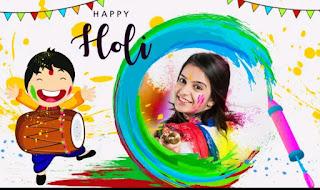 Happy Holi Photo Frames 2021