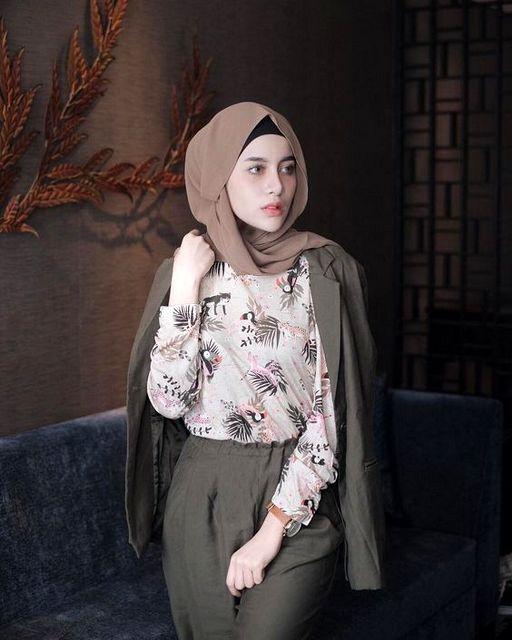 Hijab yang ramai Hijab Mauve