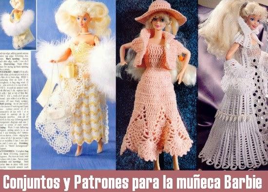 Conjuntos y Patrones para la muñeca Barbie