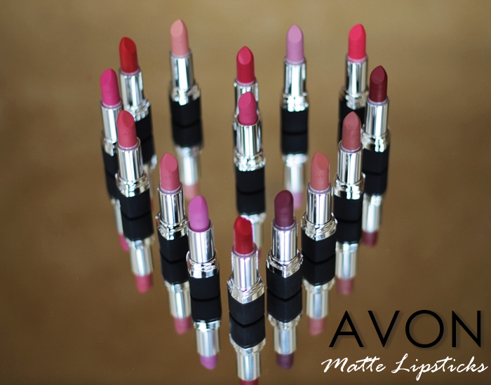 Review Swatch Avon Matte Lipsticks Anda Zelenca Blog