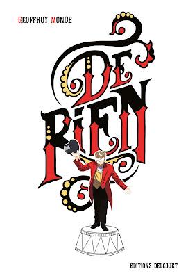 """Couverture de """"De Rien"""" de Geoffroy Monde chez Delcourt"""