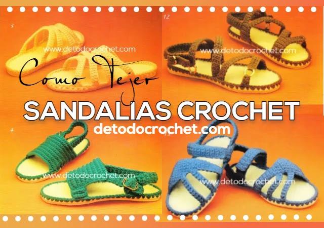 como-tejer-sandalias-crochet
