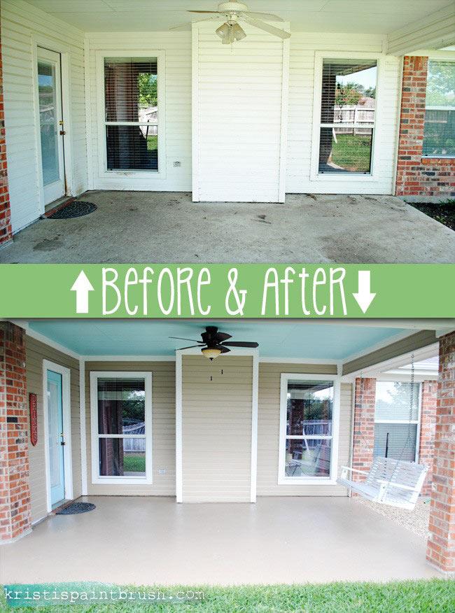 how to paint a porch floor i should