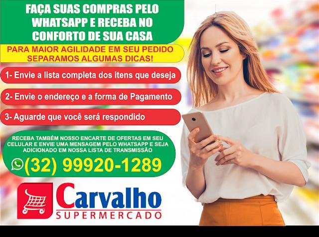 PREÇO BAIXO: CONFIRA AS OFERTAS DESTA SEXTA E SÁBADO DO CARVALHO SUPERMERCADO