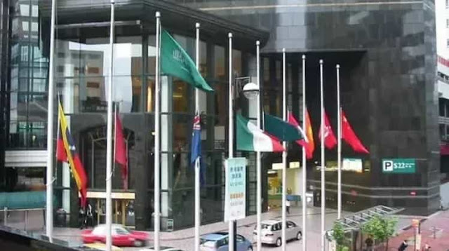 Saudi Arabia's Flag never Half-Mast lowered even at Mourning