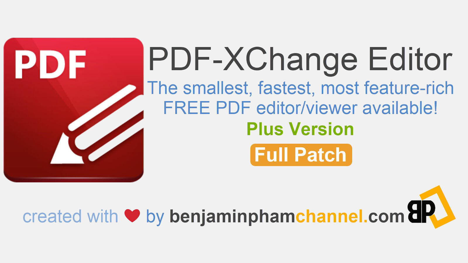 PDF-XChange Editor Plus 7.0.327.1 + Portable