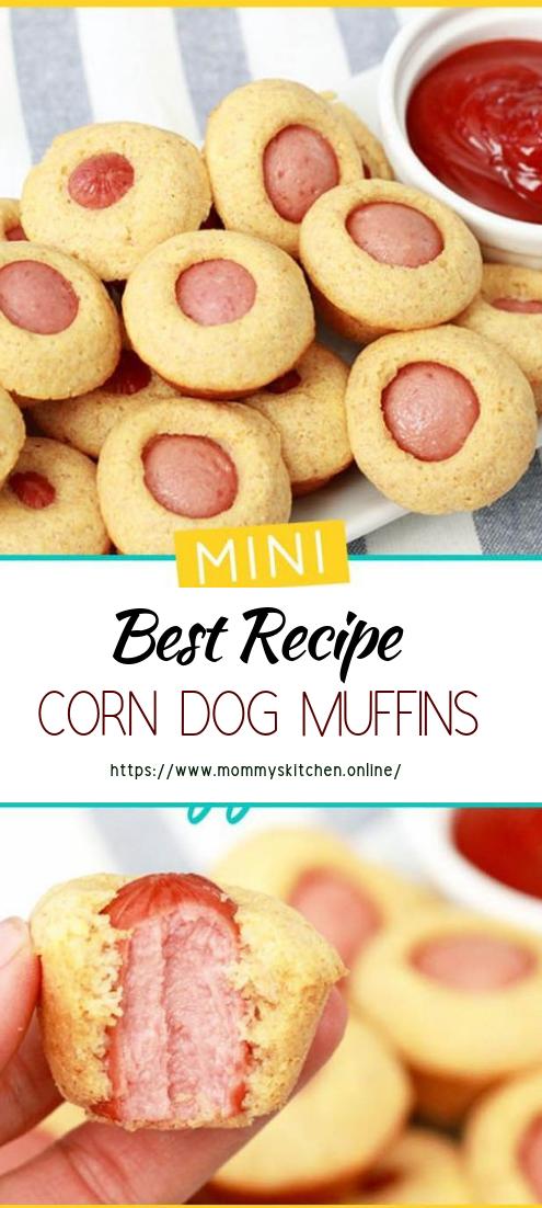 CORN DOG MUFFINS #healthyfood #dietketo #breakfast #food