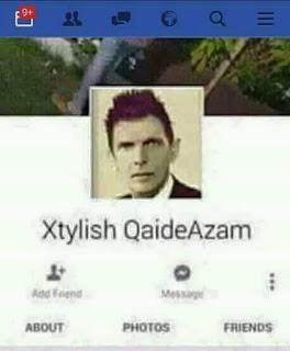 Funny picture of stylish Qaid-e-Azam