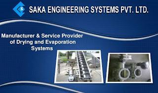 ITI, Diploma, BE  Freshers Job Vacancy in SAKA Engineering Systems Pvt. Ltd. Pune