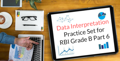 Data Interpretation Practice Set for RBI Grade B Part 6