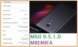 Update R4P ke MIUI 9.5.1.0 MBEMIFA