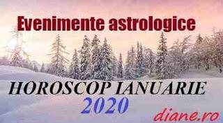 Evenimente astrologice în horoscopul ianuarie 2010