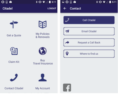 Citadel Insurance Mobile App - Download And Manage Your ...
