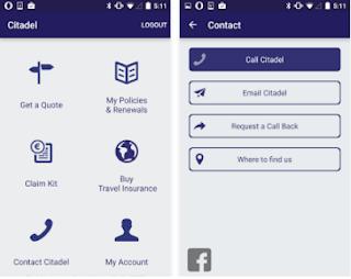 Citadel Insurance Mobile App