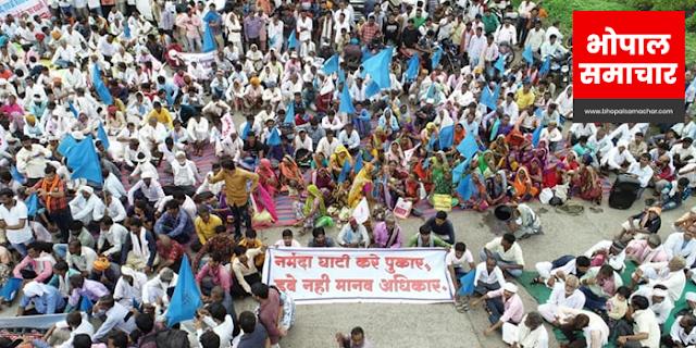 गुजरात ने बांध के गेट नहीं खोले, मप्र के 32 गांव डूबने की कगार पर