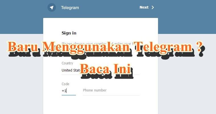 Baru Menggunakan Telegram Baca Ini Muryadi Net