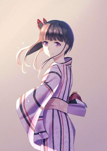 kanao tsuyuri kimetsu no yaiba kimono