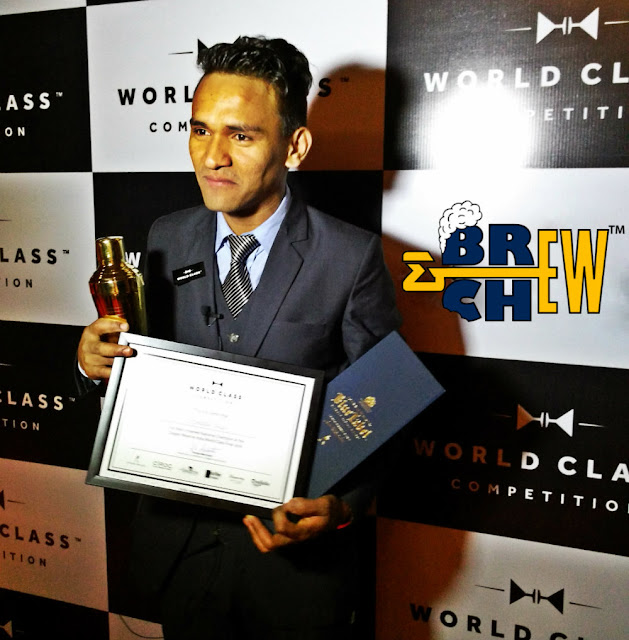 Diageo Reserve World Class Competition India 2016 Winner Jeet Rana