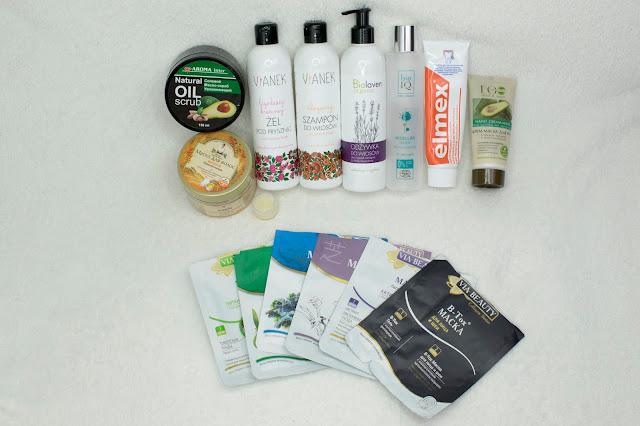 [446.] Kosmetyki zużyte w czerwcu- Projekt Denko