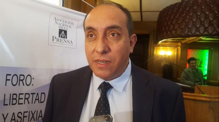 Marcelo Miralles presidente de la ANP que agrupa a medios impresos / ANF