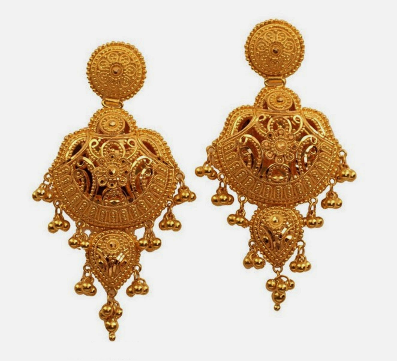 Very Best Indian Gold Jhumka Designs 2014-2015 Wallpapers ...