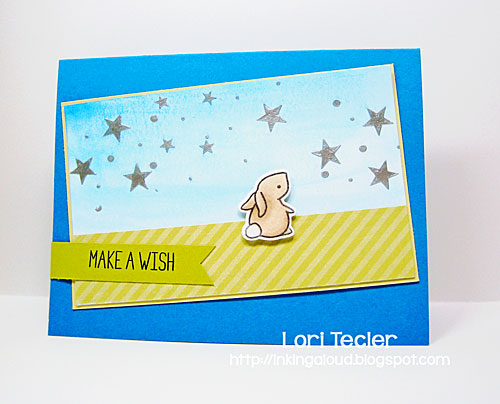 Make a Wish birthday card-designed by Lori Tecler/Inking Aloud-stamps and dies from Lawn Fawn