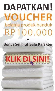 Voucher Belanja Produk Handuk SH GROSIR - supplierhanduk.com