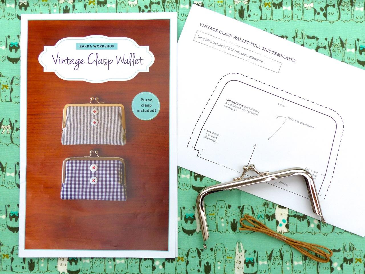 verykerryberry: Zakka Workshop: Purse Kits Review