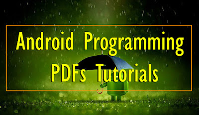 Android Programming PDFs Tutorials