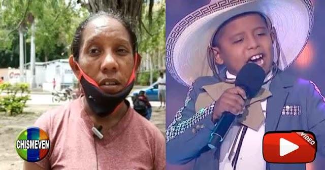 Madre del niño venezolano de La Voz Kids dice que fue secuestrado por la madrina