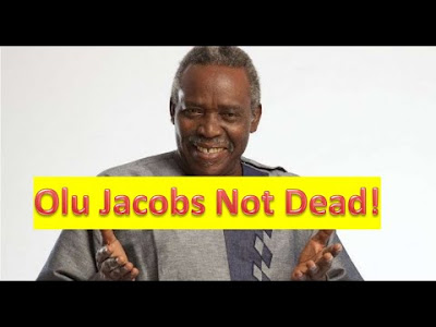 is olu jacob dead or alive