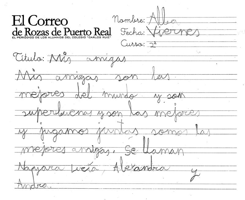 El correo de rozas de puerto real mis amigas for Horario correos puerto real