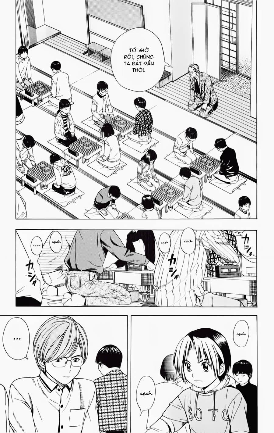 Hikaru No Go hikaru no go chap 55 trang 7