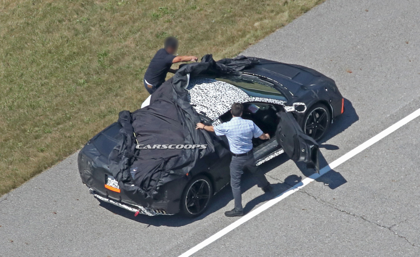 Mid-Engine 2019 Corvette C8 Spied, Gets Three Engine ...
