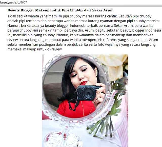 Artikel Beautynesia