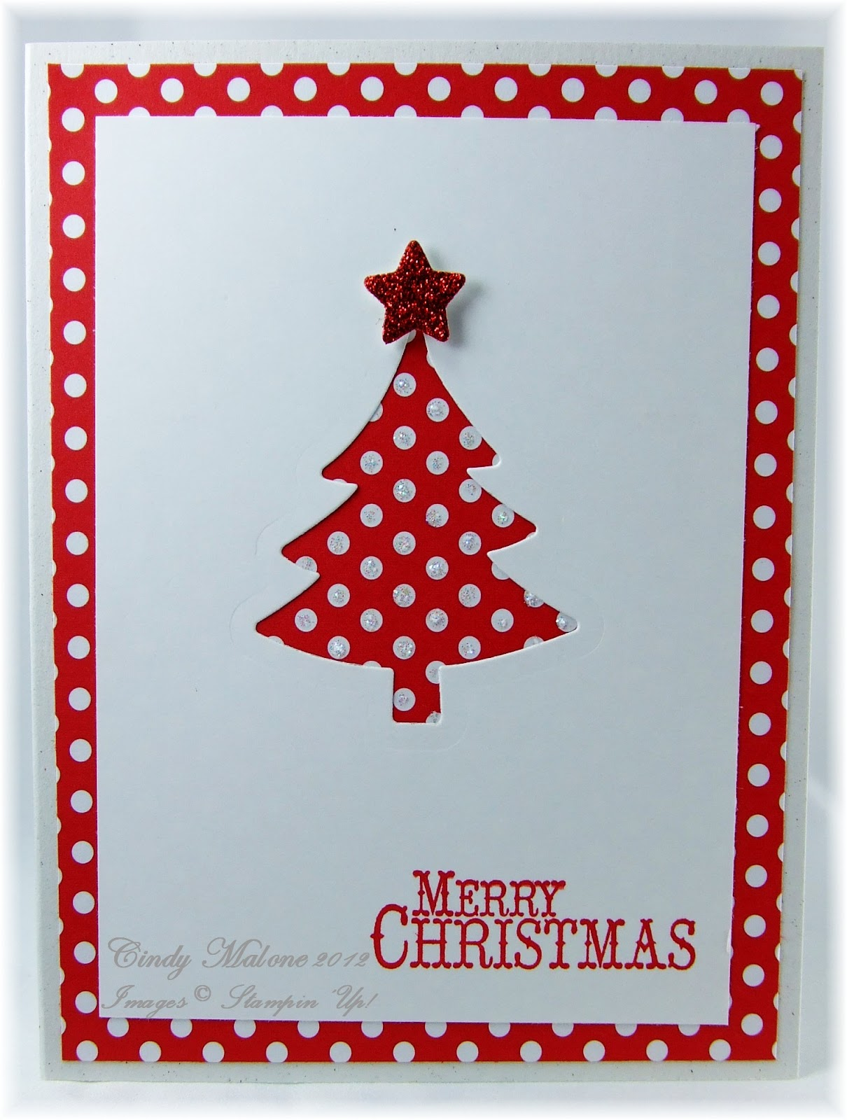 discover stamping easy christmas card