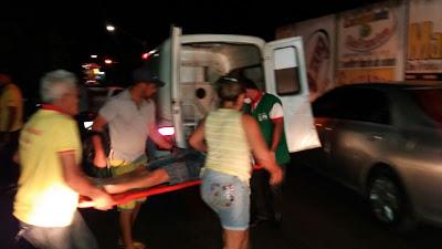 Acidente com vítima foi registrado na cidade de Ipu/CE