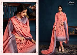 Belliza Sparkle Pashmina winter Salwar kameez wholesaler