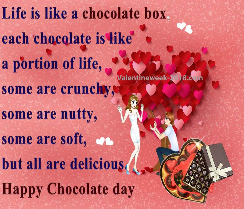 chocolate day 2018 } - Happy Chocolate Day 2018 Images Wishes ...
