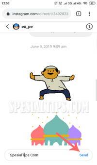 Cara Mengirim Pesan DM Instagram Di Smartphone Android Tanpa Aplikasi