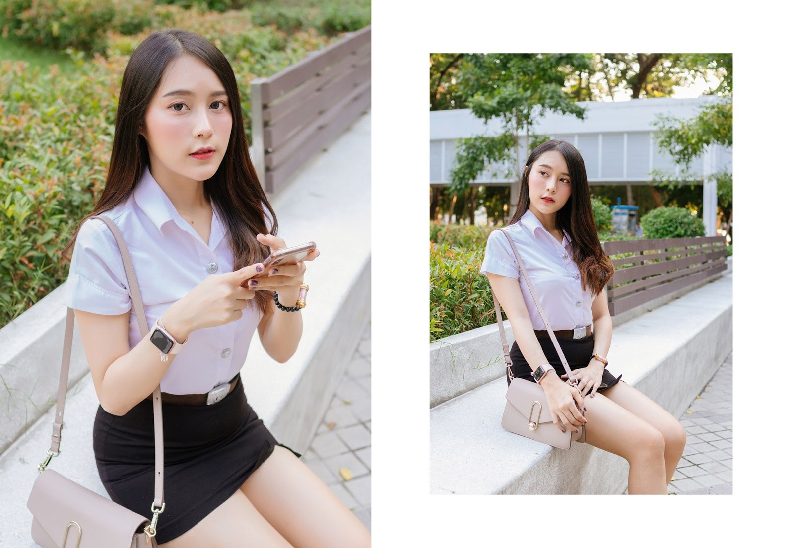 Thailand young model Lin Lee Hong with photo album Lovely Student - Picture 6