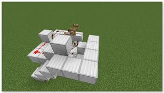 Minecraft トロッコ輸送 積み込み駅 作り方④