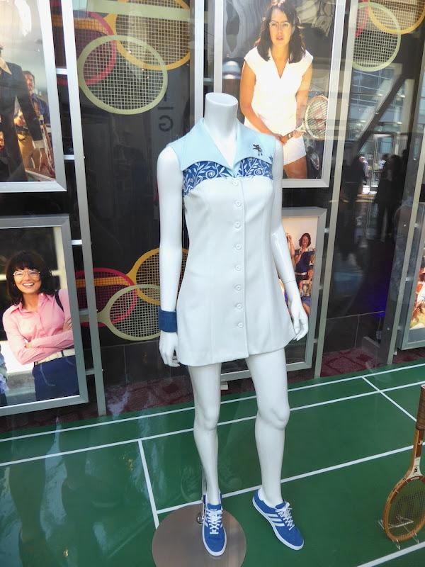 Battle of Sexes Billie Jean King tennis costume