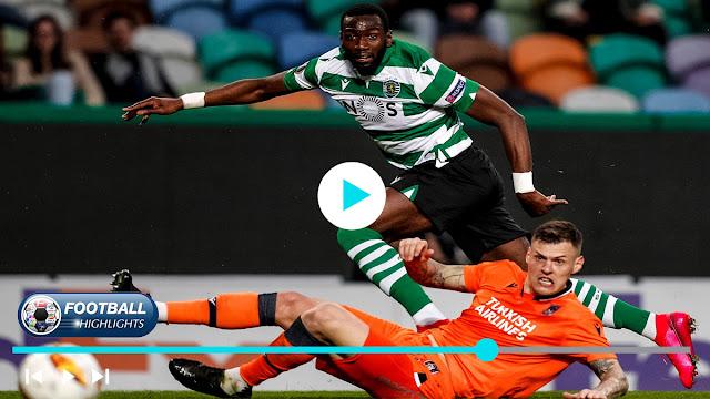 Sporting CP vs İstanbul Başakşehir – Highlights