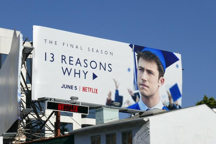 13 Reasons Why final season 4 billboard