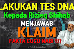 Lakukan Test DNA Rizieq