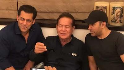 Salman Khan father Salim Khan singing Suhani Raat Dhal Chuki Watch Video